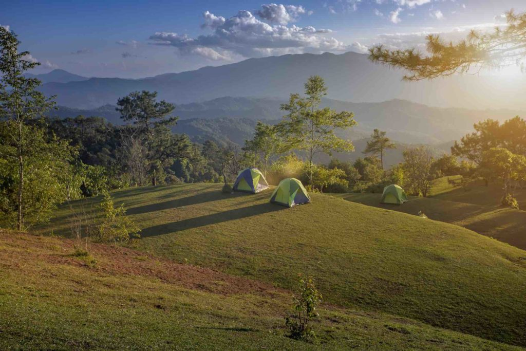 guide camping sauvage